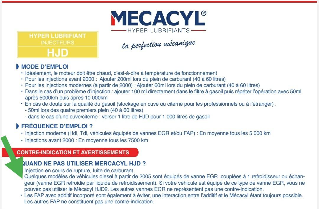 Extrait notice Mecacyl CR