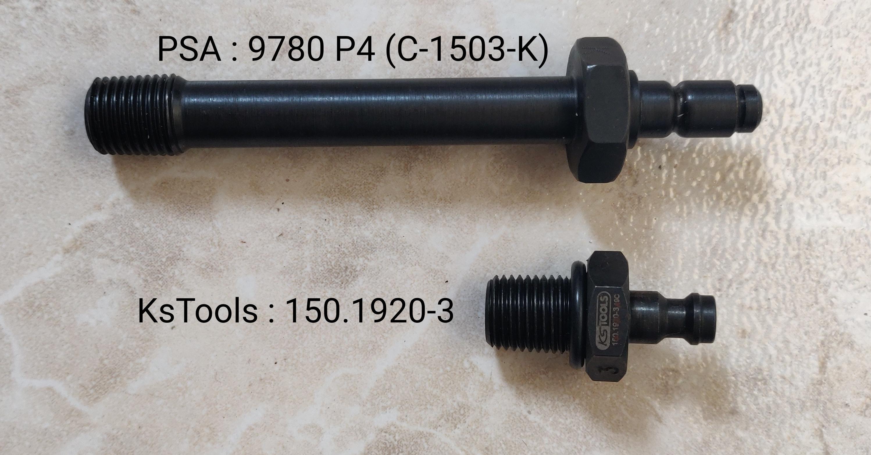 PSA 9780 P4 vs KsTools 150.1920-3