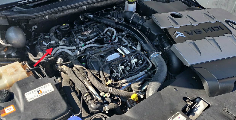 Vue moteur - Doseur d'air