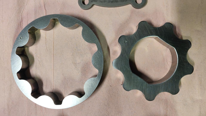 Vue des rotors (recto)