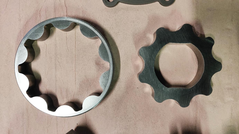 Vue des rotors (verso)